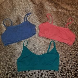 Other - LOT OF 3 GIRLS BRAS  SZ 32